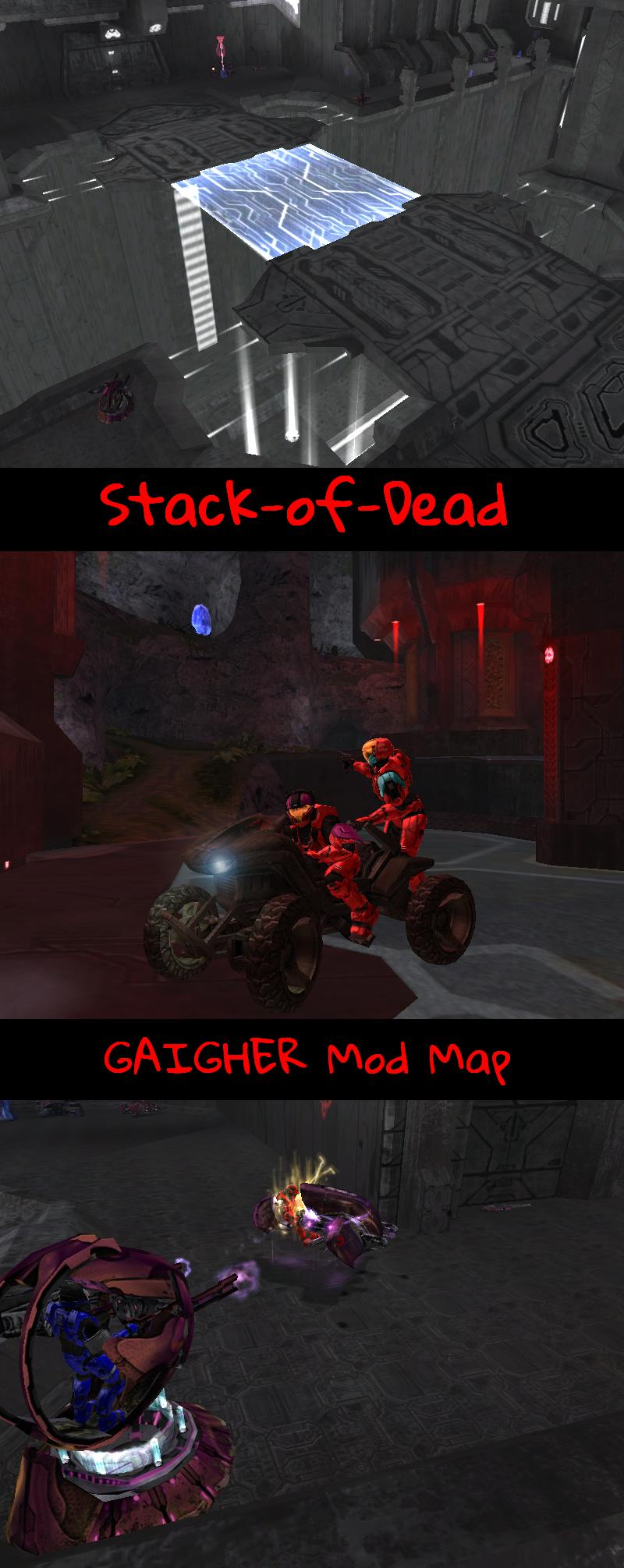 Stack-of-Dead Stack Dead maphaloce map halo ce<br />maphalo halomap carte cartes cr&eacute;ation GAIGHER mod