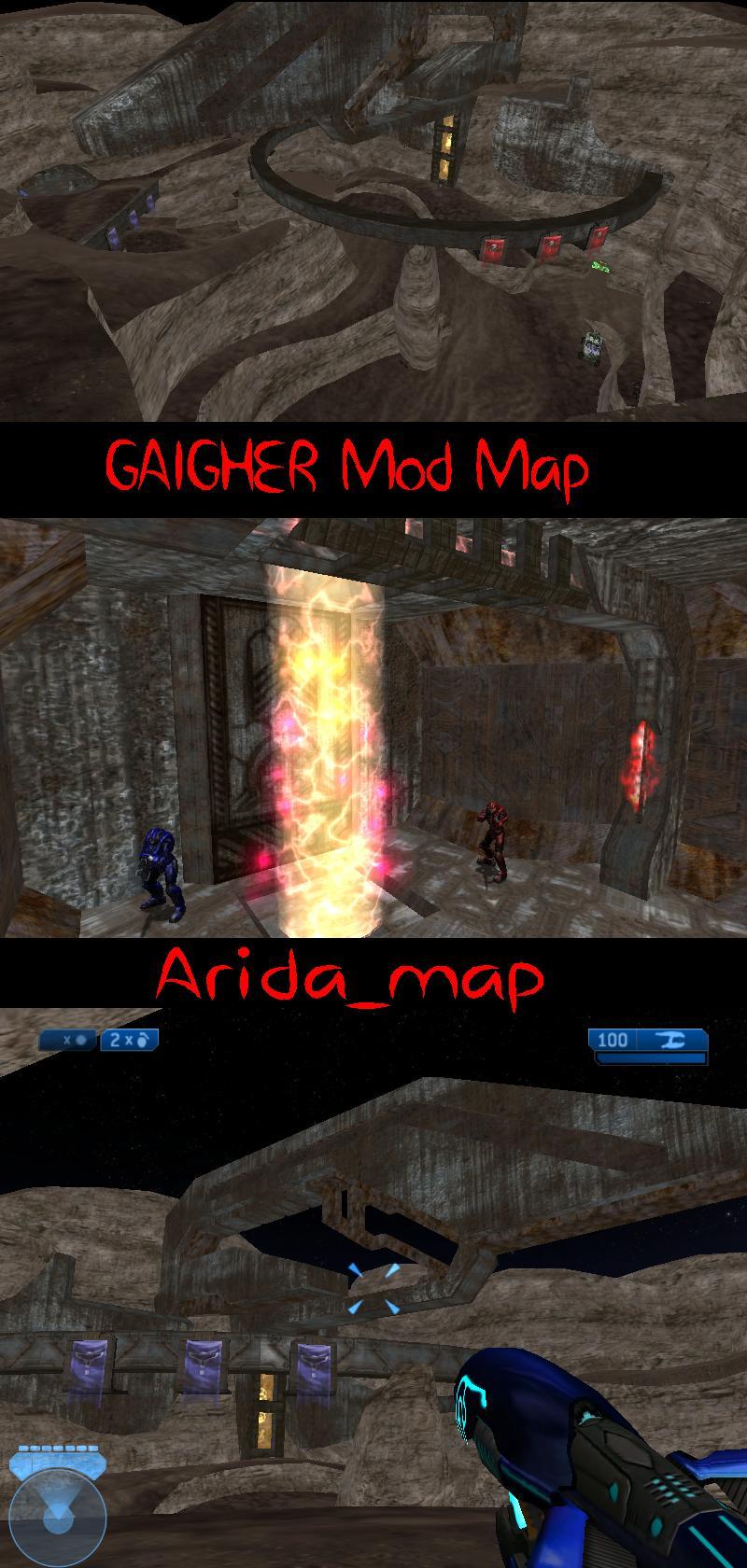 Arida_map Arida maphaloce map halo ce<br />maphalo halomap carte cartes cr&eacute;ation GAIGHER mod